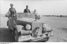 Horch mittlerer Einheits-PKW Cabriolet (license number WH 1041788), Generalfeldmarschal Erwin Rommel, North Africa, 1942