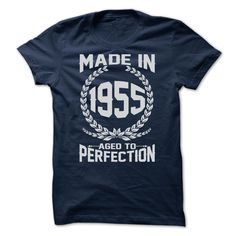 MADE IN 1955 T-Shirts, Hoodies. CHECK PRICE ==► Funny Tee Shirts