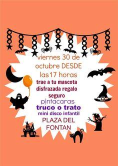 Desde la Asociación Oviedo Comercio Antiguo nos proponen un buen plan para celebrar Halloween la tarde del viernes 30 a partir de las 17h. en la plaza del Fontán (Oviedo).  ¡TRUCO O TRATO!