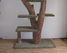 Handcrafted Driftwood Cat Tree $700
