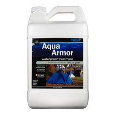 Trek7 Aqua Armor 1 gal. Fabric Waterproofing Spray for Tent and Gear