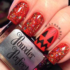 HALLOWEEN  by strawbrie  #nail #nails #nailart