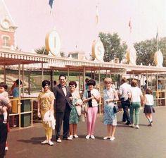 Disneyland entrance.