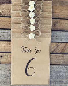 RUSTIC TABLE numbers Rustic Table Numbers, Place Cards, Place Card Holders