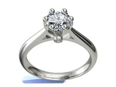JEWELRY ENGAGEMENT RING STL FILE FOR DOWNLOAD AND PRINT- CC1 | 3D Print Model