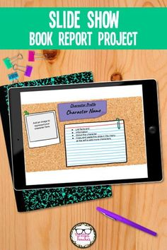 This Slide Presentation Book Report is no-prep, fully editable, and paperless. You can change, add, or remove slides in the template to fit your needs. Directions are included on each slide so you could leave this project with a sub, or assign as homework/ independent work, etc.