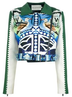 MARY KATRANTZOU 'Star Sailor' Biker Jacket £1755