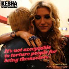 #Kesha #stopbullying #notacceptable