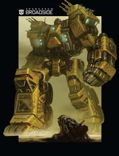 Art of Fall of Cybertron, Broadside