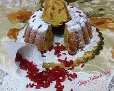 torta di mele con bacche di goji