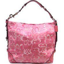 Pink Coach bag!