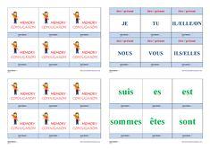 Un jeu de conjugaison pour apprendre et mémoriser la conjugaison au présent des verbes être, avoir et aller.