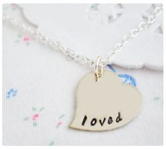 Loved Necklace - $19.99. http://www.bellechic.com/products/3b1f54ef89/loved-necklace
