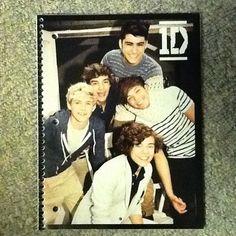 New One Direction 1D Spiral Notebook RARE   eBay
