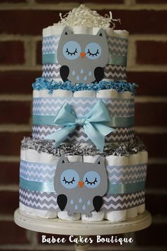 3 Tier Blue and Gray Owl Diaper Cake Blue by BabeeCakesBoutique 2019 3 Tier Blue and Gray Owl Diaper Cake Blue by BabeeCakesBoutique The post 3 Tier Blue and Gray Owl Diaper Cake Blue by BabeeCakesBoutique 2019 appeared first on Baby Shower Diy. Baby Shower Diapers, Baby Shower Cakes, Baby Shower Parties, Baby Shower Themes, Baby Boy Shower, Baby Shower Decorations, Shower Ideas, Bebe Shower, Owl Shower