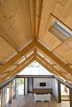1000 images about exposed timber trusses on pinterest for Exposed roof trusses images