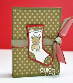 Reindeer Food or Chap Stick Holder
