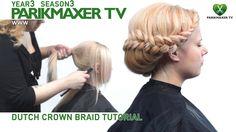 Плетение косы вокруг головы. Анастасия Юхименко парикмахер тв parikmaxer.tv