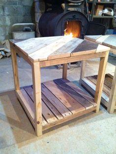 Barn wood end tables, side tables, nightstand. #barnwood #furniture