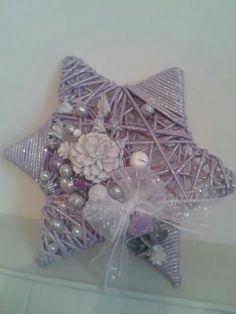 A Hanukkah, Wicker, Wreaths, Stars, Decor, Decoration, Door Wreaths, Sterne, Deco Mesh Wreaths