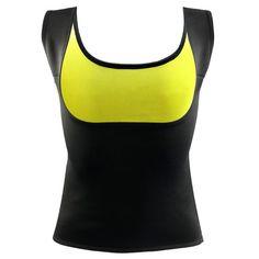 e1a122736bb DropShipping 2017 Women Hot Neoprene Body Shapers Slimming Waist Slim Vest  Underbust Plus Size Black Rose Blue Purple shape tops