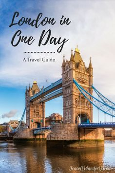 In this short guide, I'll walk you through the places to visit to see London in a Day. You won't be able to cover everything, of course, but you'll get to hit all the key landmarks. This guide features a mix of walking and subway-riding to get you around the city, so be prepared to be active! #london #londontravel #internationaltravel