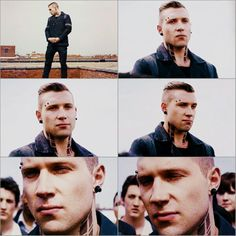 Jai Courtney as Eric in Divergent