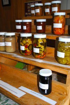 jarred fruits & veggies