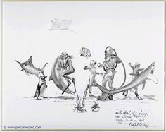 Croquis with Neal its always an ocean fest -pencil on paper by Pascal Lecocq The Painter of Blue  9 3/4x12 Lec693a 2005 priv.coll. Fort Lauderdale#oceanfest #nealwatson#art #blue #painterofblue #painting #painter #artist #contemporaryartcurator #artstack #artcartridge #artcollectae #glarify #theartdex #in #pint.