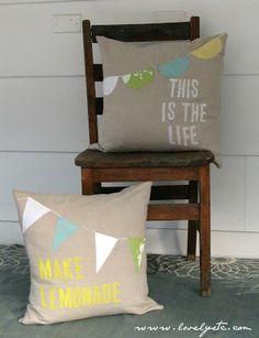 Happy Pillows - Lovely Etc.