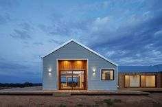 700 Haus is a Modern Farmhouse by Glow Building Design in Trentham, Victoria (via Lunchbox Architect). Corrugated iron and timber make it feel very rural Australian