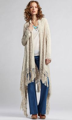 Love this Look! ~ Crochet and/or Knit Inspiration!