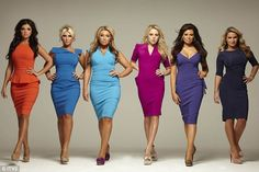 Girls are intent on copying celebrities such as Jennifer Aniston, Paris Hilton and Ashley Greene and are ostracised if they don't. Bridesmaid Dresses, Prom Dresses, Formal Dresses, Wedding Dresses, Bridesmaid Ideas, Midi Dresses, Cheap Dresses, Essex Girls, Style
