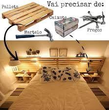 Cabeceira de madeira para cama de casal em suite estilo for Mobilia vaughan