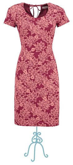 Dress Anouk bordeaux - Collectie