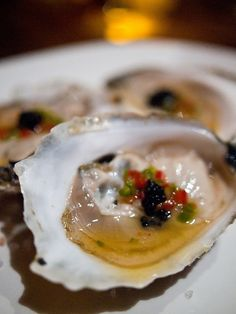 New Year's Eve- Oysters on the Half Shell