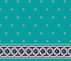 Cami Halısı Efes ıd 001 Turkuaz