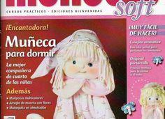 Revista muñecos soft, muñeca para dormir