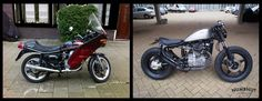 numbnut motorcycles honda cx500 before/after