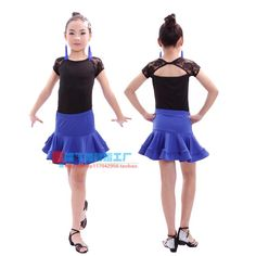 >> Click to Buy << New girls latin dance costumes sexy senior spandex lace short sleeves top+skirt 2pcs latin dance set for girls latin dance suits #Affiliate