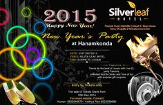 Biggest New Year Bash 2015 in Warangal on December 31, 2014