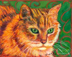 In Charge Painting  - In Charge Fine Art Print
