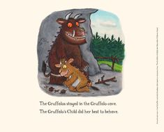 'Gruffalo stayed in the cave': Axel Scheffler and Julia Donaldson's coronavirus cartoons
