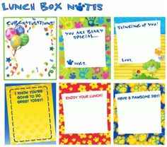 FREE Printable Build-A-Bear Lunch Box Notes {+ 14 fun packed lunch ideas!} #school