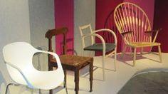 Selection of Danish Modern chairs, Danish Design Museum, Copenhagen Danish Modern Furniture, Mid Century Modern Furniture, Modern Chairs, Modern Sofa, Furniture Styles, Furniture Design, Paint Furniture, Furniture Ideas, Modern L Shaped Desk