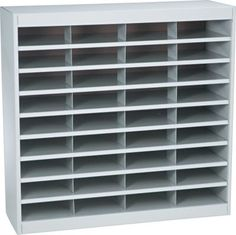 Staples®. has the Safco® EZ STOR Literature Organizer, 36 Compartment, 37 1/2''x 12 3/4''x 36 1/2'', Gray you need for home office or business. FREE delivery on all orders over $19.99, plus Rewards Members get 5 percent back on everything!