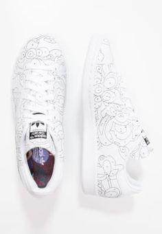 size 40 63f59 7c2e6 adidas Originals STAN SMITH - Baskets basses - white black - ZALANDO.FR  Korit