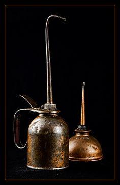 *Vintage Oil Cans