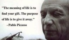 find your bliss - as a by-product, you will help many many others. #bliss #vision #career