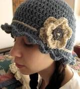 When I get good at making simple crocheted hats, I want to attempt this one.